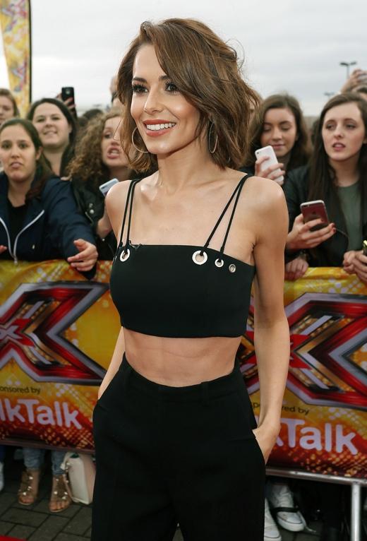 Cheryl - nữ giám khảo quyến rũ của X-Factor.(Ảnh: Daily Mail)