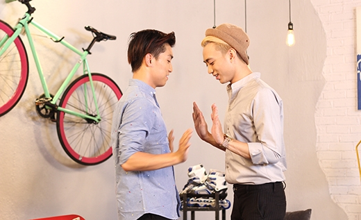 Ngọc Trai và Soobin bắt đầu thực hiện thử thách