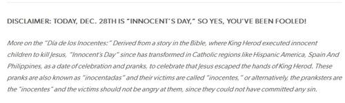 """Nhưng rồi mọi người đã """"ngã ngửa"""" khi biết rằng đây chỉ là trò đùa nhân ngày nói dối."""