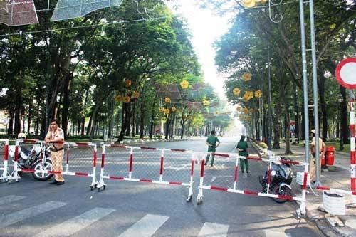 Hàng loạt tuyến đường sẽ bị cấm bắt đầu từ sáng ngày 31/12. Ảnh: Internet