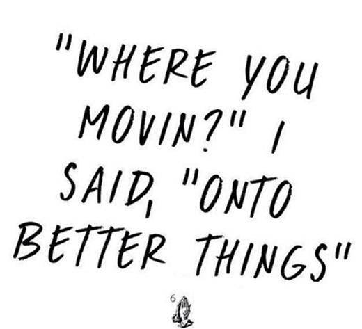 """""""Đi đâu vậy?"""", """"Đến với những điều tốt đẹp hơn"""". (Ảnh: Instagram)"""