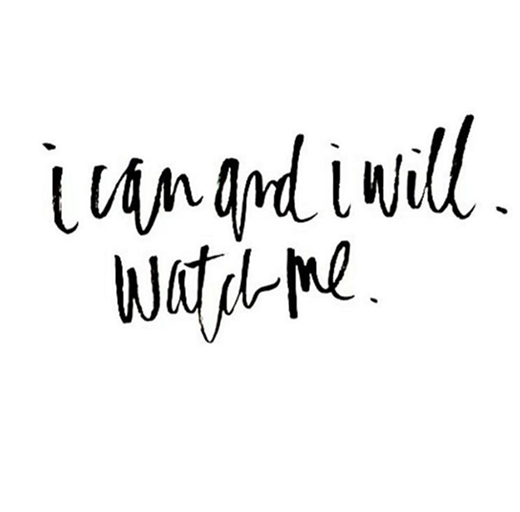 """""""Tôi có thể và tôi sẽ làm được. Cứ chờ đấy"""". (Ảnh: Instagram)"""