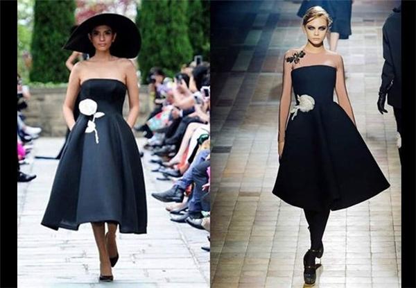 """Bộ sưu tập La Vie En Rose của Đỗ Mạnh Cường bị nhiều khán giả cho là """"đạo"""" ý tưởng của các thương hiệu quốc tế lớn như Lanvin, Christian Dior..."""