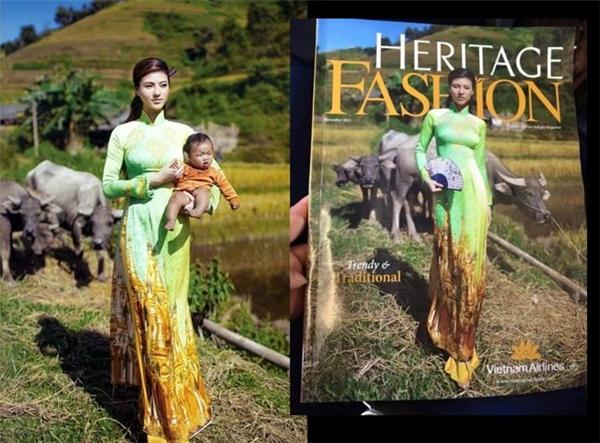 Vietnam Airlines phải thu hồi toàn bộ ấn phẩm tháng 11 của tạp chí Heritage Fashion, sau khi một hành khách Myanmar bức xúc vì việc ngôi chùa Vàng linh thiêng của đất nước họ bị in trên tà áo dài.