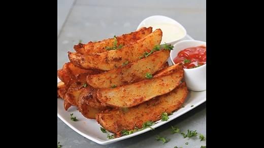 Khoai tây nướng tỏi cực dễ làm ngày đầu năm