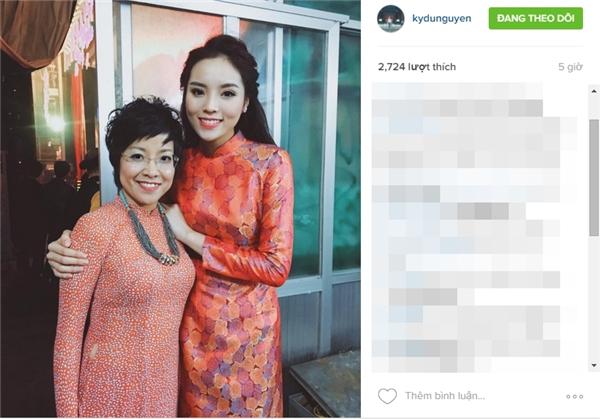 Bức hình cũng được hoa hậu chia sẻ trên cả trang Instagram cá nhân... - Tin sao Viet - Tin tuc sao Viet - Scandal sao Viet - Tin tuc cua Sao - Tin cua Sao