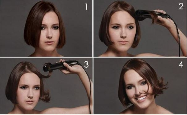 Các cô nàng tóc ngắn hãy thử kiểu này nhé. (Ảnh: Internet)