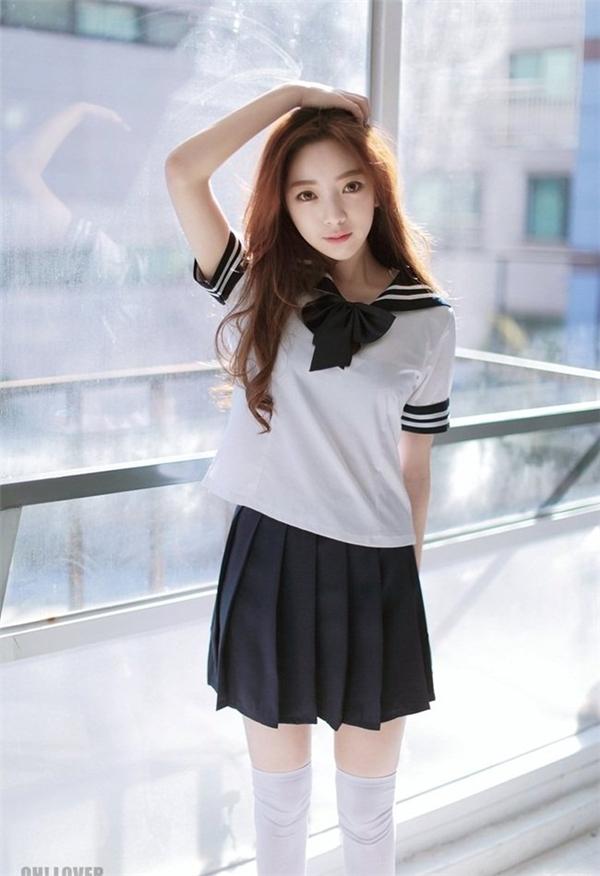 Park Ji Hyun có vẻ đẹp trong sáng, thánh thiện tựa thiên thần. (Ảnh: Internet)