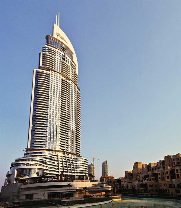 Khách sạn Address là một trong những khách sạn cao cấp nhất Dubai hiện nay.