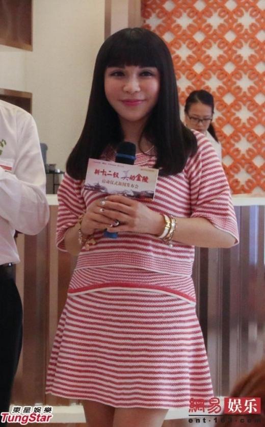Người mẫu U50 Giang Tử Lăng. (Ảnh: Internet)