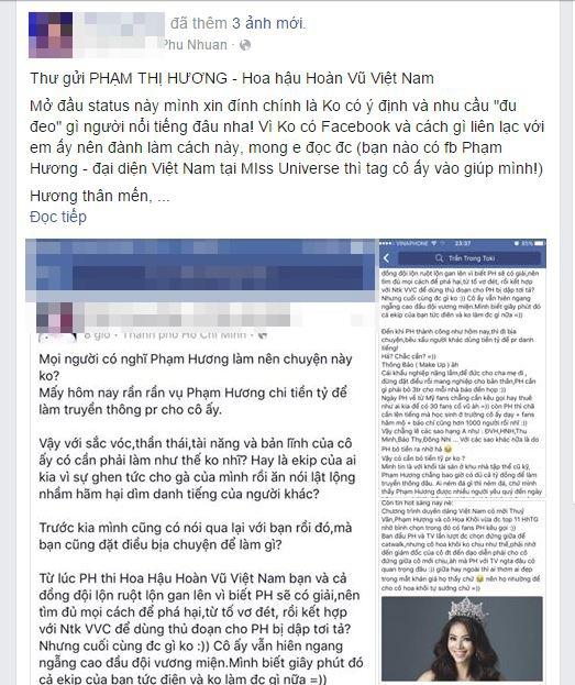 Chuyên gia trang điểm của Lan Khuê viết tâm thư gửi Phạm Hương - Tin sao Viet - Tin tuc sao Viet - Scandal sao Viet - Tin tuc cua Sao - Tin cua Sao