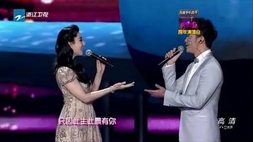 Phạm Băng Băng và Lý Thần xuất hiện tình tứ hát đôi trên sân khấu