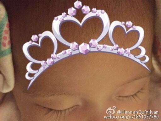 Hình ảnh của bé Hathaway từng được Côn Lăng chia sẻ