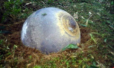 Bộ chỉ huy quân sự tỉnh Tuyên Quang khẳng định vật thể lạ không phải là bom mìn.