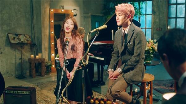 Fan háo hức trước dự án kết hợp của Baekhyun và Suzy