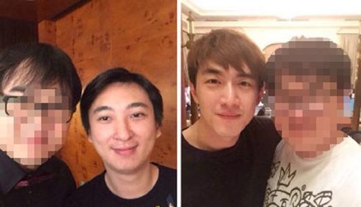 Lâm Canh Tâncũng tham dự tiệc sinh nhật của Vương Tư Thông.(Ảnh Internet)