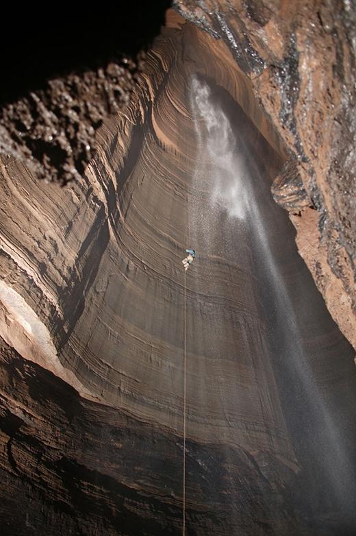 Bức ảnh được chụp tạiFantastic Pit, Georgia, Mỹ.(Ảnh: Internet)