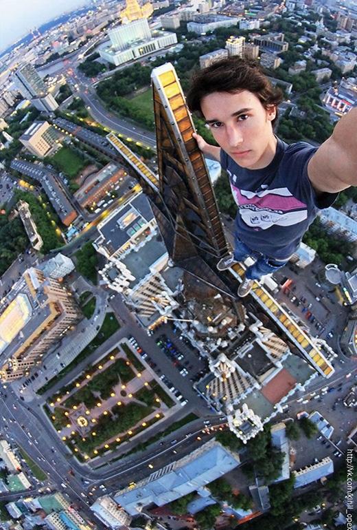 Thế này mới gọi là selfie. (Ảnh: Kirill Oreshkin)