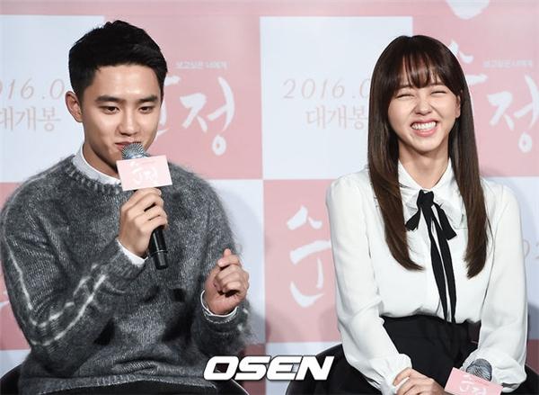 D.O. (EXO): Tôi cảm thấy thoải mái khi bên cạnh Kim So Hyun