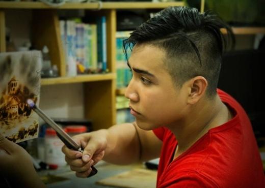 """""""Trầm trồ"""" trước tài hội hoạ siêu """"độc"""" của các bạn trẻ Việt"""