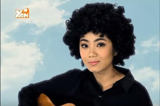 Phương Linhlông mày rậm tóc xù đúng chất Tiên Tiêntrong MV My Everything.