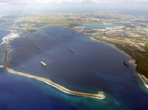 """Đảo Guam là nơi khá nổi tiếng, là địa điểm được nhiều khách du lịch tới tham quan. Đây cũng là nơi có các căn cứ quân sự của Mỹ. Cộng thêm các yếu tố về điều kiện tự nhiên, sẽ có rất nhiều người đến đây nếu """"tận thế"""" xảy ra. (Ảnh: Internet)"""