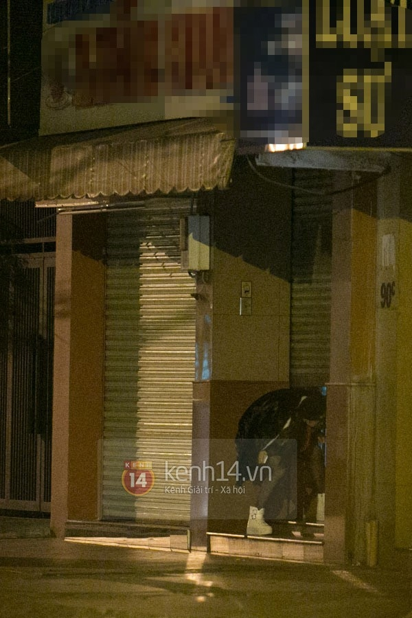 Những hình ảnh hẹn hò buổi đêm từng gây xôn xao dư luận của Chi Pu và Gil Lê. (Ảnh: Internet) - Tin sao Viet - Tin tuc sao Viet - Scandal sao Viet - Tin tuc cua Sao - Tin cua Sao