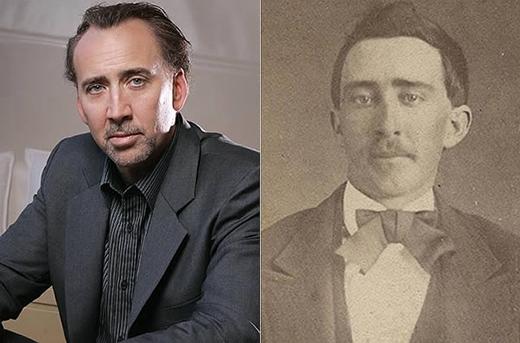Năm 2011, một người dùng trên trangeBay tên jack_mord đãđặt mua bức ảnh của Con Air(bên phải), một diễn viên nổi tiếng từ những năm 1870để bán đấu giá (1.000.000 đô la, tương đương gần 22,5 tỉ đồng). Lí do là vì người này cho rằng nhân vật trong ảnh quá giống với diễn viên từng đạt giải Oscar,Nicolas Cage. Thậmchí, người dùng này còn nghĩ hai nhân vậttrong bức ảnh trên là cùng một người; sỡdĩ giữ được sự trẻ trung như vậy vì họ là... ma cà rồng.(nguồn ảnh: internet)