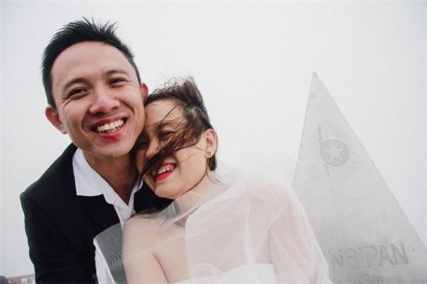 Thanh Mai và Sơn Tùng chụp ảnh cưới trên đỉnhFansipan.