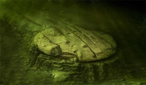 Vật thể nghiUFOtìm thấy dưới đáy biển Baltic năm 2011.