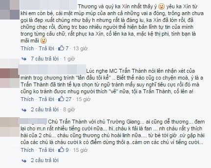 Người hâm mộ đã dành cho Trấn Thành sự chia sẻ, cảm thông. - Tin sao Viet - Tin tuc sao Viet - Scandal sao Viet - Tin tuc cua Sao - Tin cua Sao