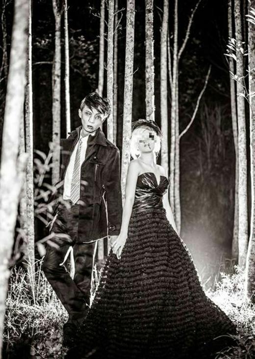 Nhiều cư dân mạng cho biết cặp đôi trông rất ấn tượng và đậm chất ma mị. (Ảnh: Internet)