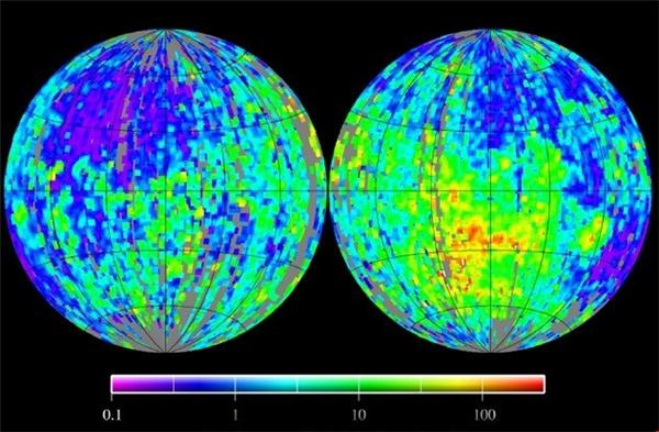 """Các nhà khoa học đang rất """"đau đầu"""" khi đangphảitìm lời lígiải xem hiện tượngMặt trăng từng có một vùng lõi giúp nó tạo ra từ trường mạnh hơn Trái đấtxảy ra khi nào và kết thúc ra sao. Ảnh: Internet"""
