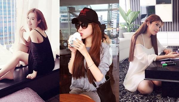 Từ tháng 7/2015, Elly Trần chọn trang phục thùng thình hoặc tối màu để giấu khéo vòng 2. - Tin sao Viet - Tin tuc sao Viet - Scandal sao Viet - Tin tuc cua Sao - Tin cua Sao