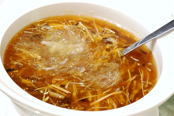 Cận cảnh món súp vi cá của Trung Quốc. (Ảnh: Internet)