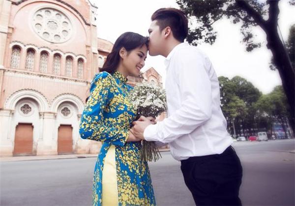 Ảnh cưới của Diễm Hương được thực hiện khi em bé trong bụng đã được... bốn tháng. - Tin sao Viet - Tin tuc sao Viet - Scandal sao Viet - Tin tuc cua Sao - Tin cua Sao