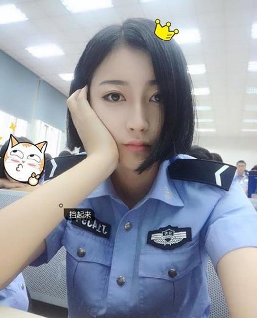 Phát sốt với nữ cảnh sát xinh đẹp nhất Trung Quốc