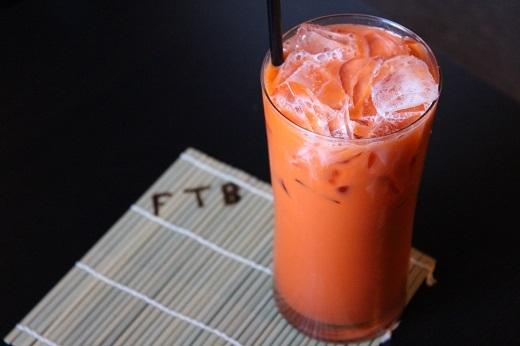 Cha yen đỏ là loại trà sữa truyền thống. (Ảnh: Internet)