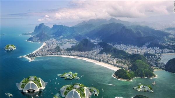 Một thành phố trong lòng đại dương, tại sao không?(Ảnh: CNN)