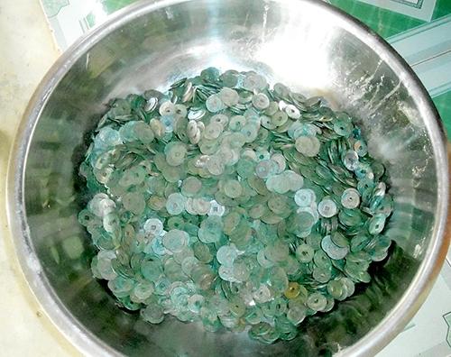 15kg tiền cổ vừa được phát hiện. Ảnh: Internet