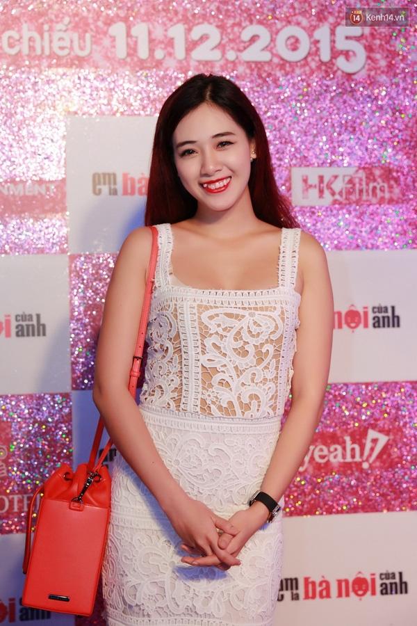 """Hà Min hạnh phúcbáo """"tin vui"""". Cô nàng bắt đầu trông đậm đà hơn khi mang thai tháng thứ 3. (Ảnh: Internet)"""