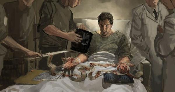 Doctor Strange có được siêu năng lực sau một tai nạn giao thông. (Ảnh: Internet)