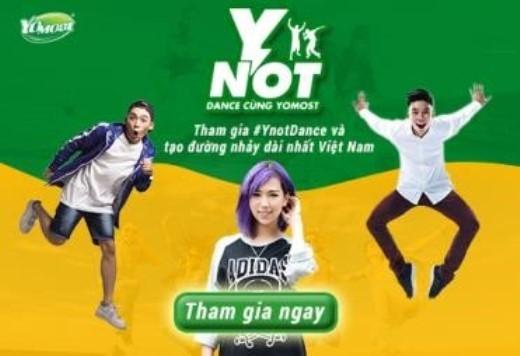 Đừng bỏ lỡ cuộc vui, tham gia ngay #Ynotdance và cùng Yomost tạo đường nhảy dài nhất Việt Nam. - Tin sao Viet - Tin tuc sao Viet - Scandal sao Viet - Tin tuc cua Sao - Tin cua Sao
