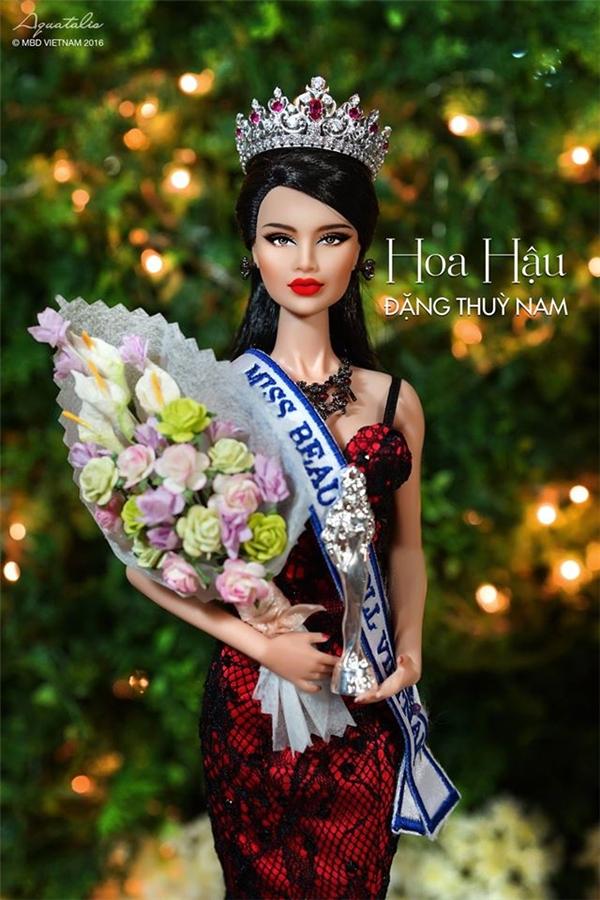 Đại diện của Việt Nam tại cuộc thi lần này là người đẹp Đặng Thùy Nam. Cô vừa đăng quang ngôi vị Hoa hậu Búp bê Việt Nam 2015 cách đây không lâu.