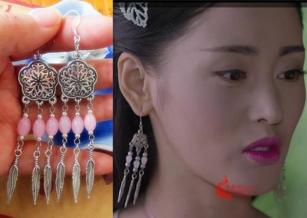 Những đôi bông tai hàng chợ của thái tử phi Trương Bồng Bồngchỉ được bán chơi trên mạng. Vì đến các nhóm cosplay chuyên nghiệp của xứ Tàu cũng không mấy sử dụng vì nhìn kém lung linh.