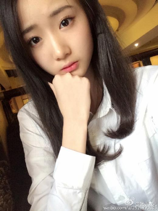 """Vẻ đẹp trong sáng của Trương Tiểu Nghiêu Nhi, """"ngọc nữ"""" của Học viện Điện ảnh Bắc Kinh (Ảnh: Internet)"""