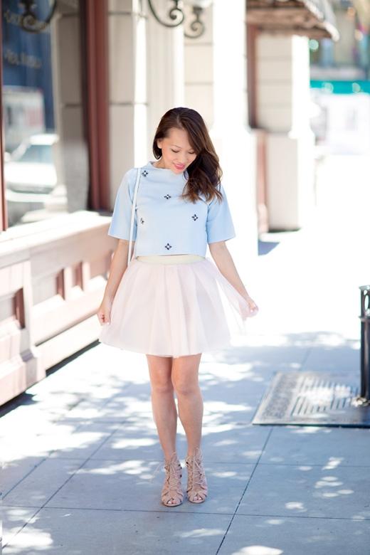 Những kiểu váy phù hợp với dáng người thấp bé(Ảnh: Internet)