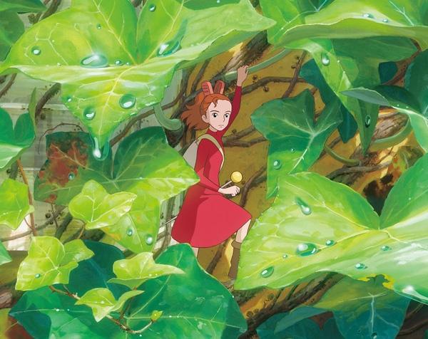 """13. """"The Secret World Of Arrietty"""" (2010) dựa trên cuốn tiểu thuyết của Mary Norton, bộ phim xoay quanh cô gái tí hon Arrietty."""