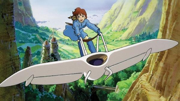 """15. """"Nausicaä of the Valley of the Wind"""" (1984) là phim anime với chủ đề phiêu lưu thời hậu tận thế do Miyazaki Hayao thực hiện dựa trên loạt manga cùng tên của ông trước đó."""