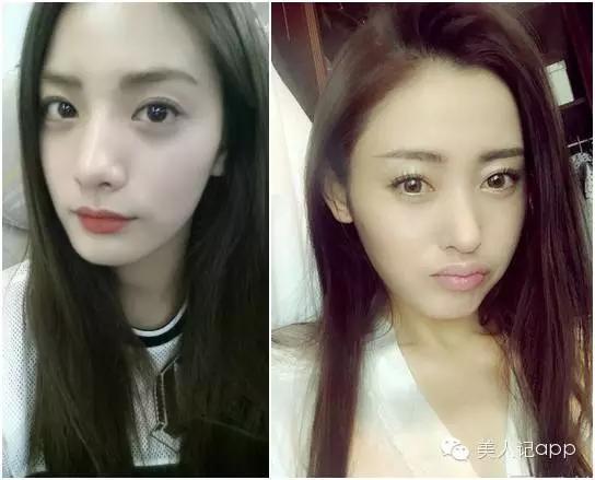 Đây là bức ảnh khiến người hâm mộ của Trương Thiên Ái phải choáng váng vì cô quá giống đệ nhất mĩnhân Nana của Hàn Quốc. Điều này chứng tỏ nhan sắc của Trương Thiên Ái không hề tầm thường chúc nào.